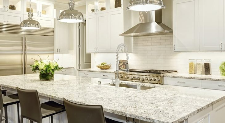 25 White Granite Countertop Colors For