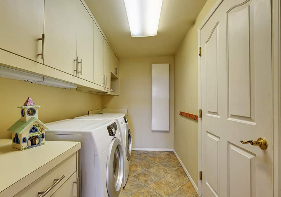 Light beige Laundry Room