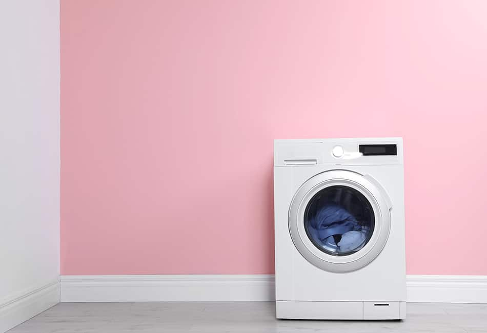 Pink Laundry Room