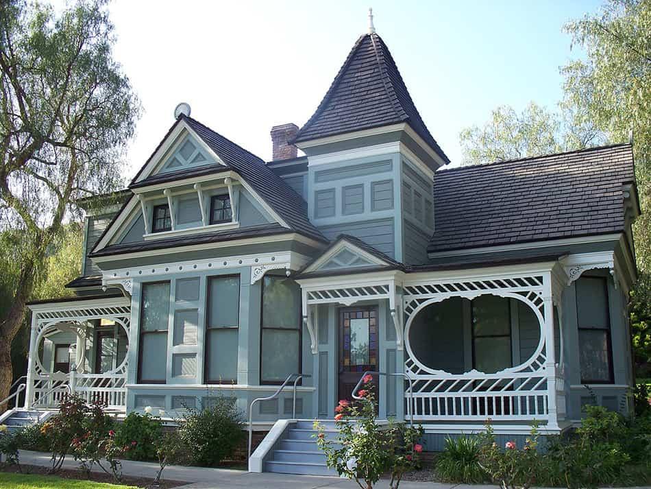 Eastlake style house
