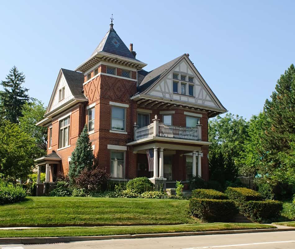 Stick style house