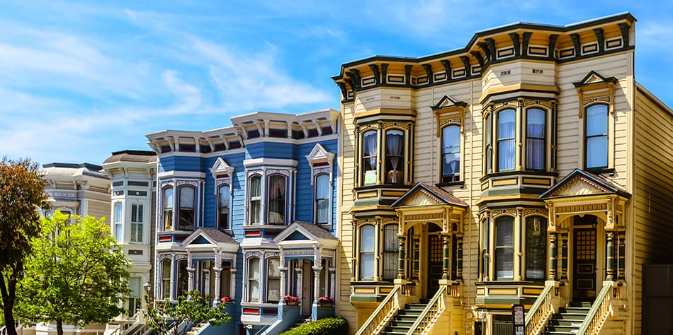 Italianate Victorian style house