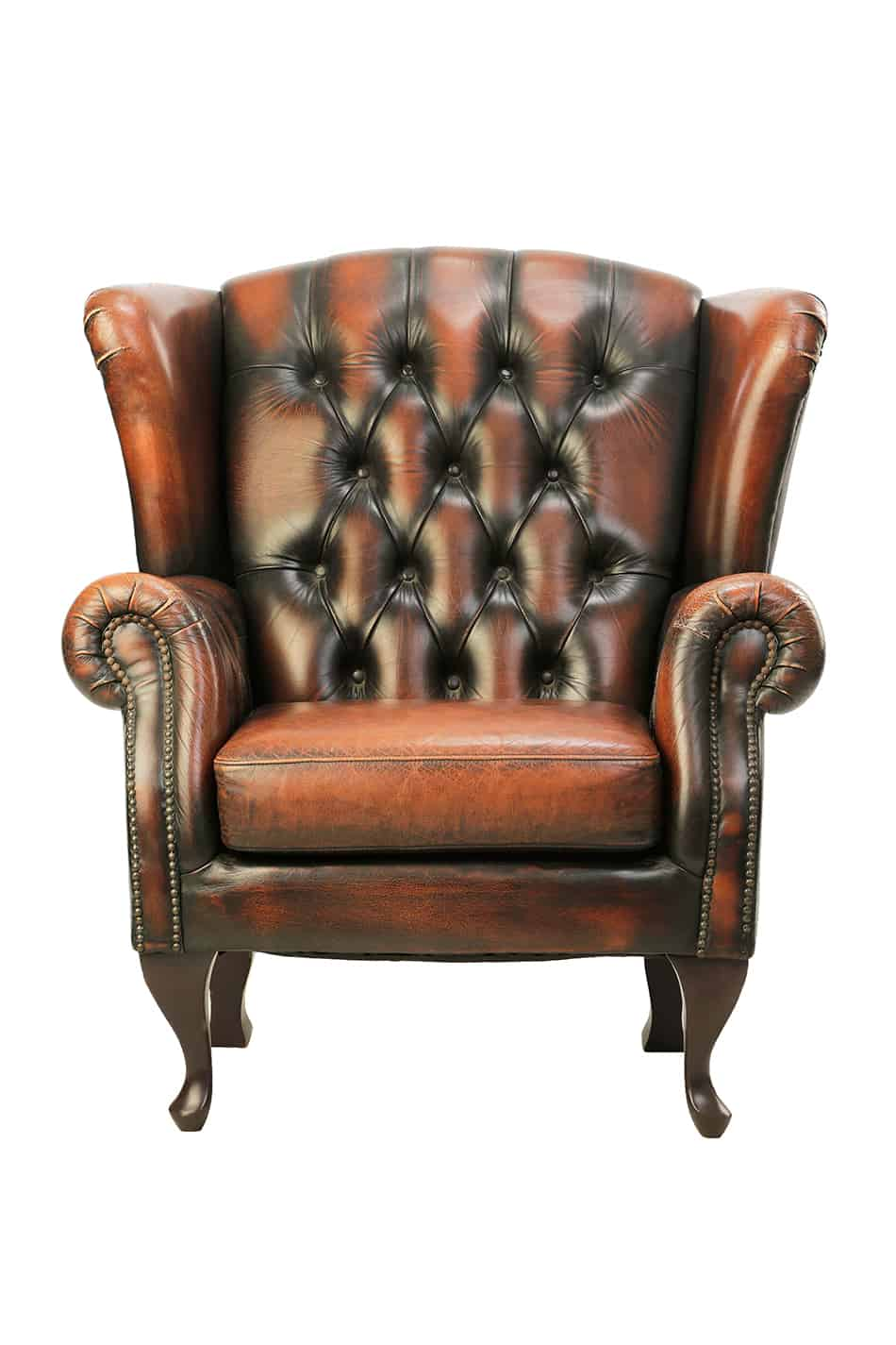 Chesterfield Queen Anne armchair