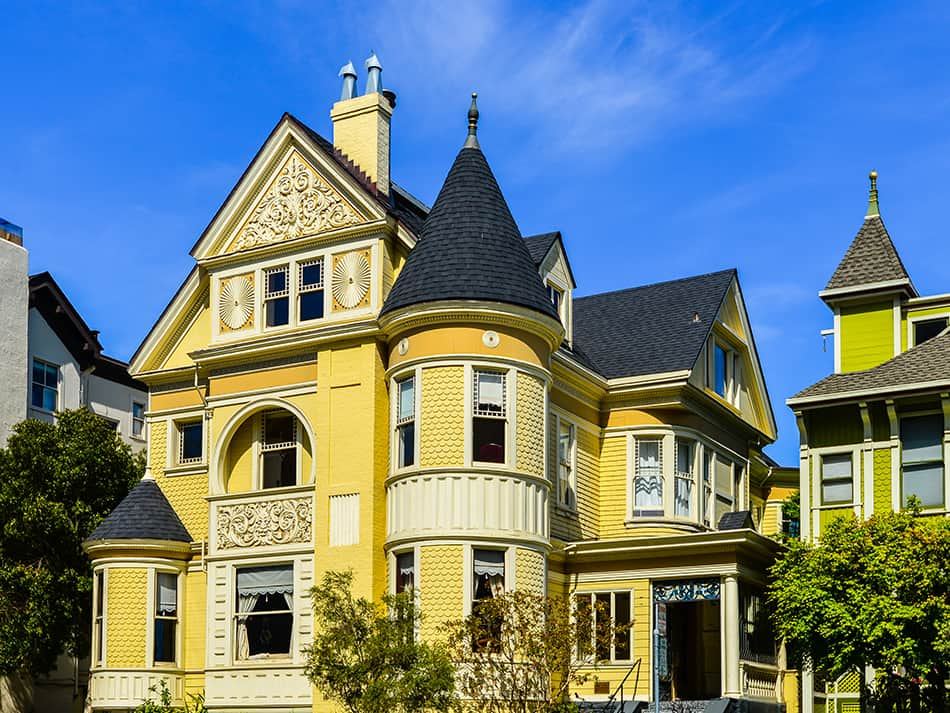 Queen Anne Style Victorian home