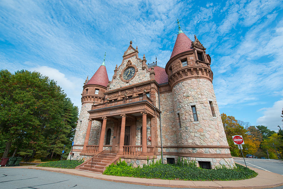 Richardsonian Romanesque Style