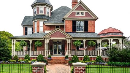 Victorian style house