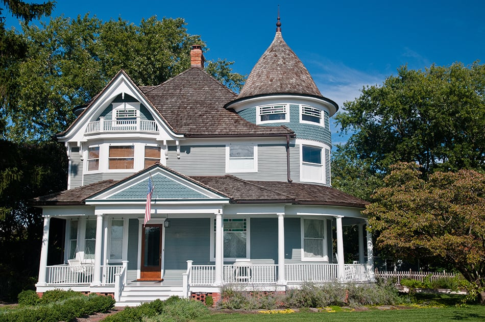 What is a Victorian style house