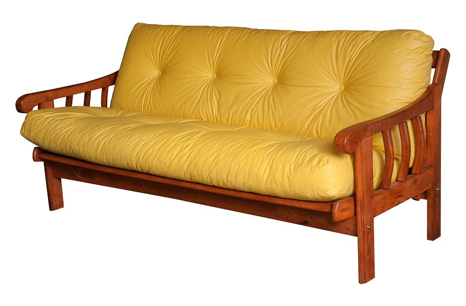 Solid wooden frame futon