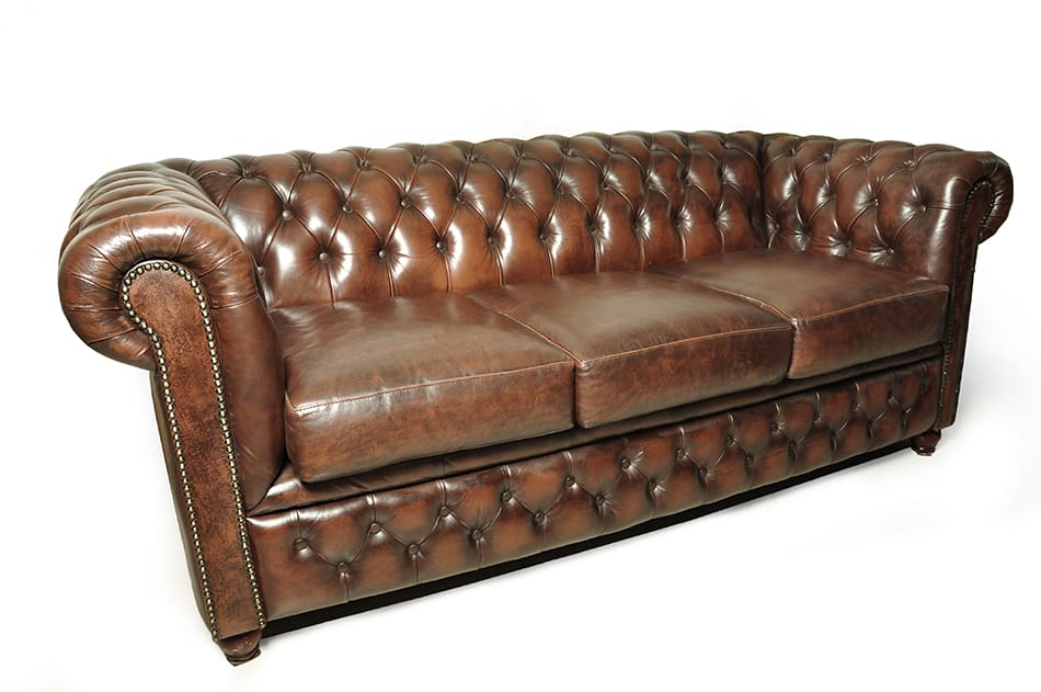Three-seater Chesterfield Sofa