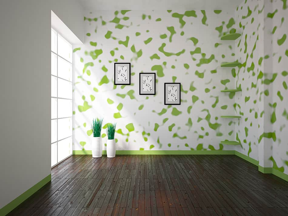 Add style with wall art