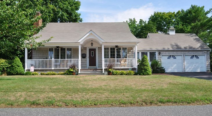 Bungalow style houses