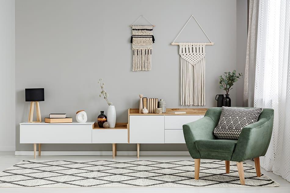 DIY custom wall furnishings