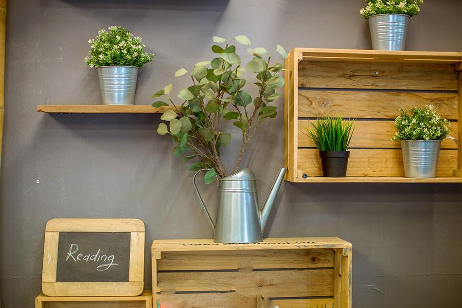 Enjoy the greenery indoors