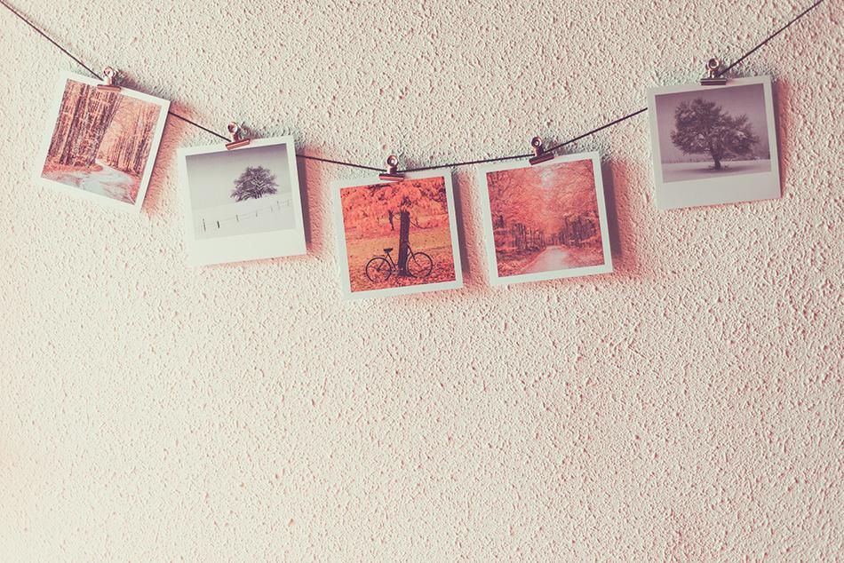 Hang your photos on a string