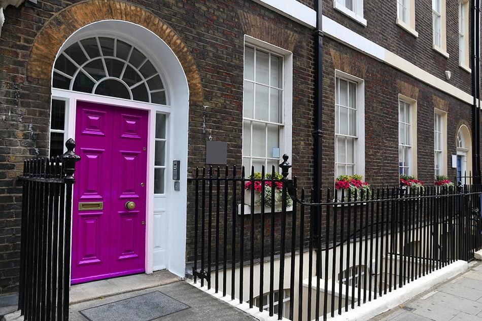 Purple Door for A Mark of Royalty