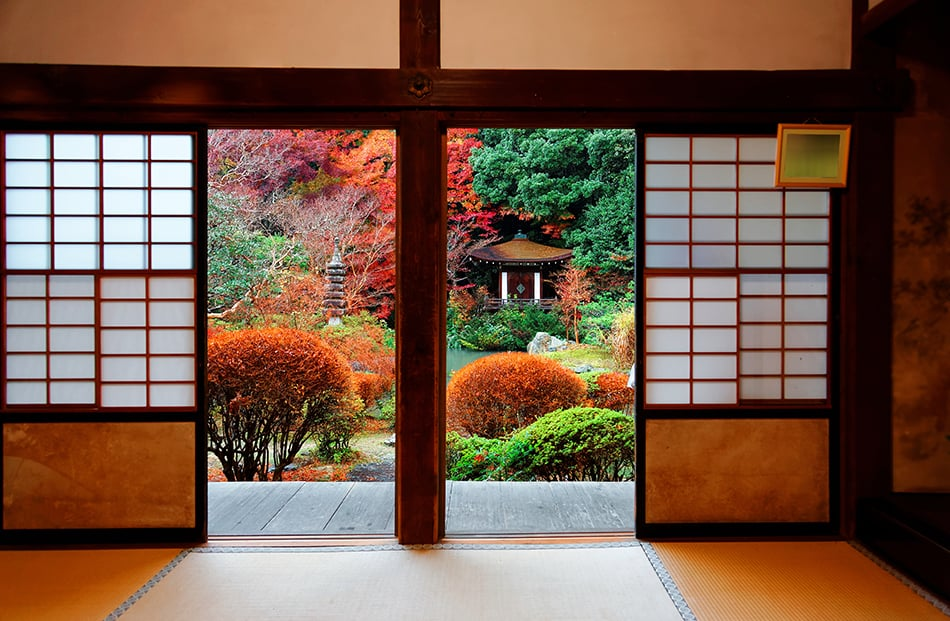 Shoji sliding screens