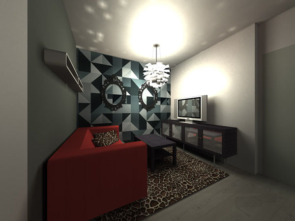 Follow the trend with contemporary wallpaper