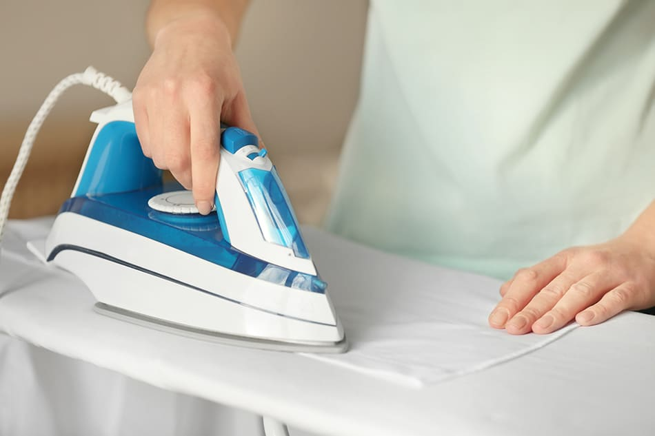 towel and iron drying