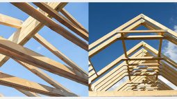 Rafters vs trusses: know what they are, their differences, and pros and cons