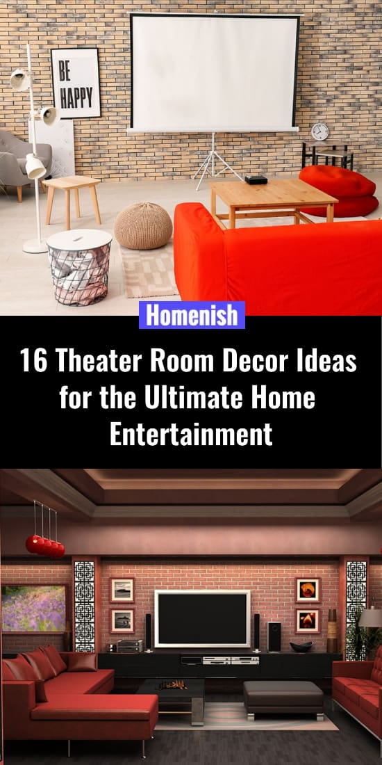 16 Theater Room Decor Ideas for the Ultimate Home Entertainment