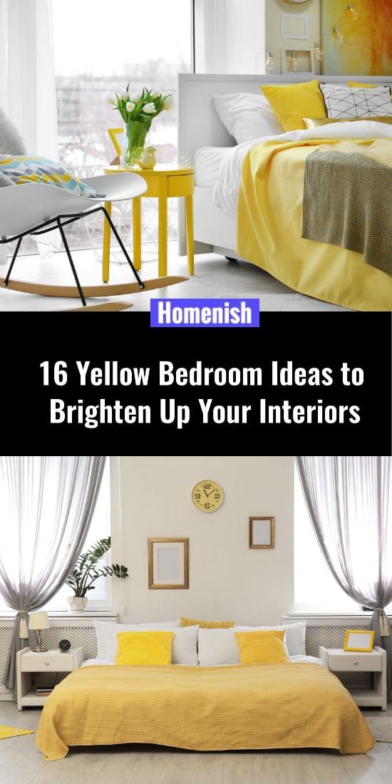 16 Yellow Bedroom Ideas to Brighten Up Your Interiors
