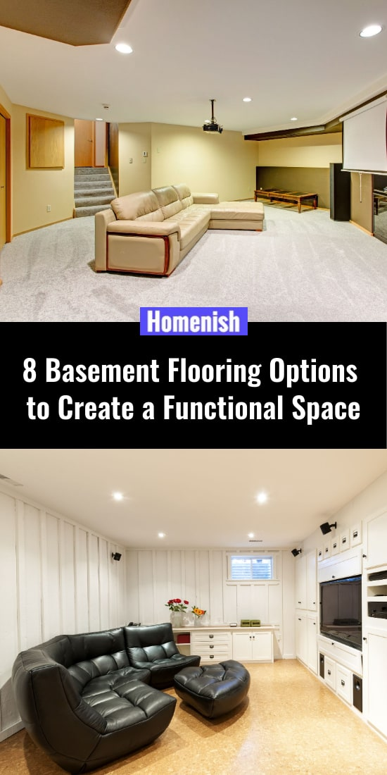 8 Basement Flooring Options to Create a Functional Space