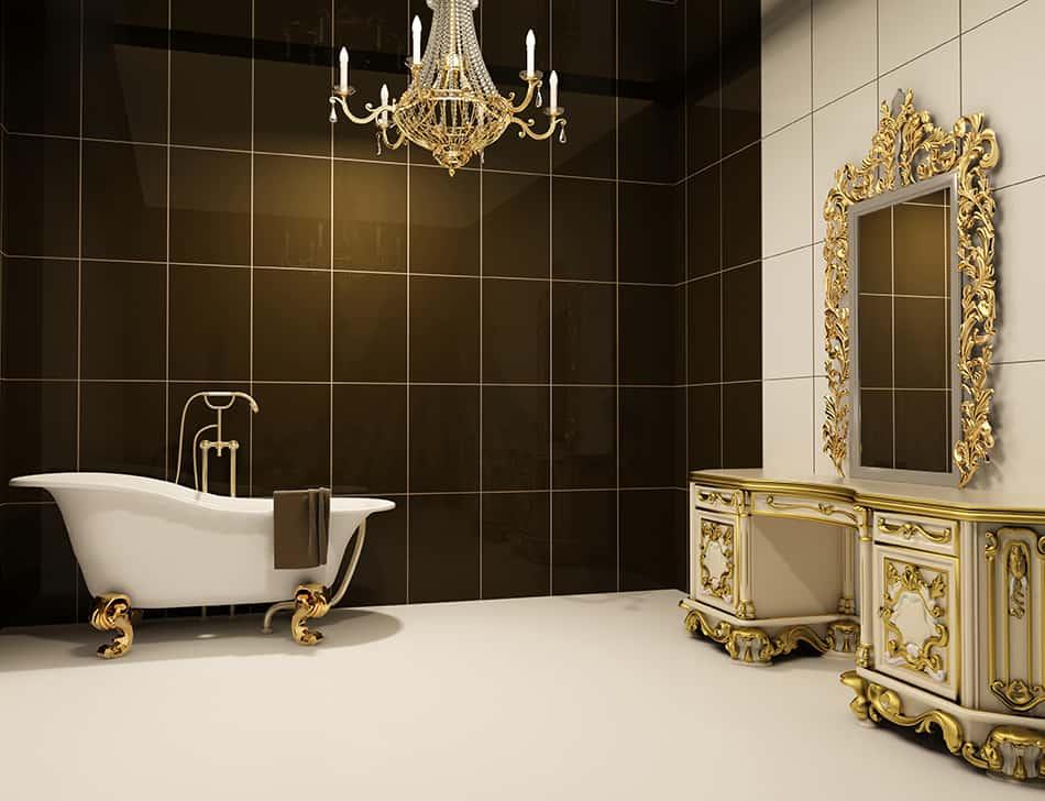 Baroque Luxury for Bathroom