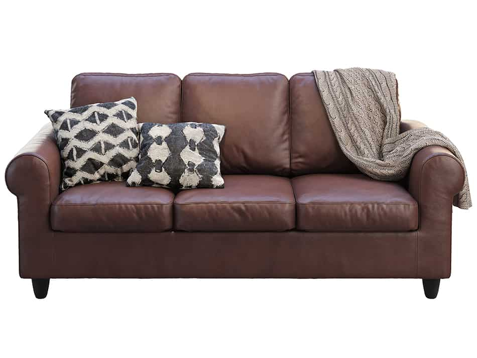 Decorative Pillows For Brown Leather Sofa  from www.homenish.com