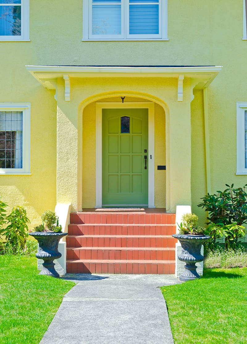 Bring Out the Sunny Side of Your Home's Front Entry