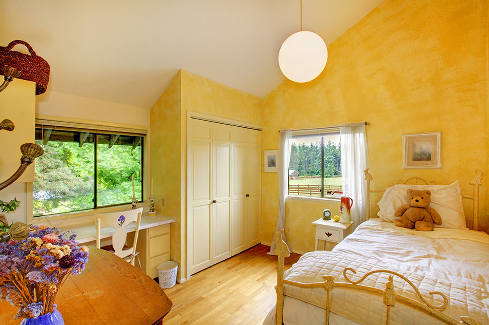 Create a Yellow Child's Bedroom