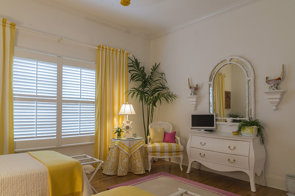 Dare to Go All-out with a Full Yellow Decor