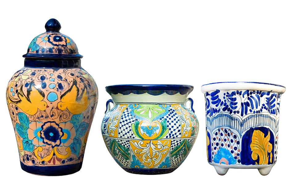 Don't Forget the Talavera Pottery