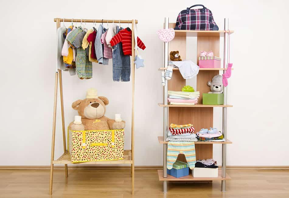 Dressing Closet and Shoe Racks