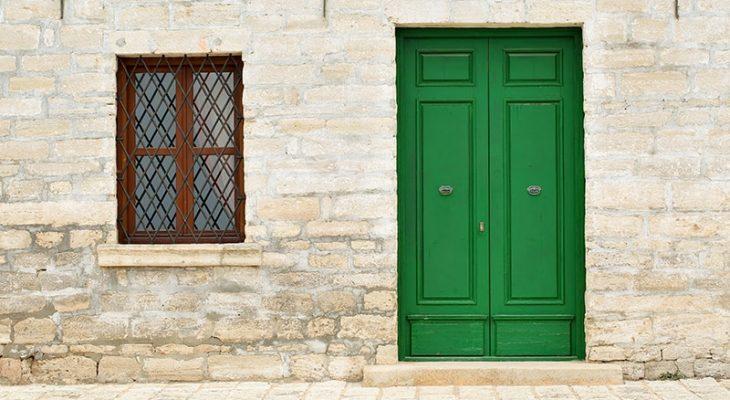 Green Front Door Ideas