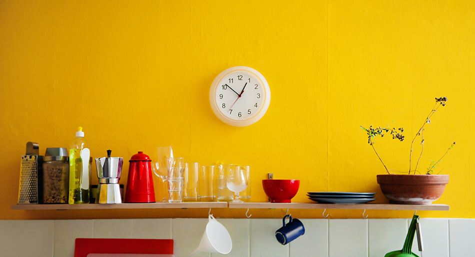 Paint Your Walls a Vibrant Color