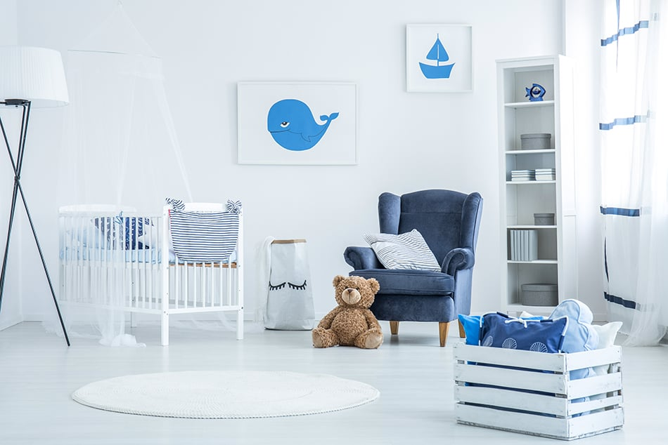Use the Same Theme for Baby's Room