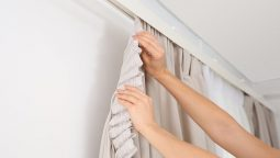 Hang Curtains Without Nails