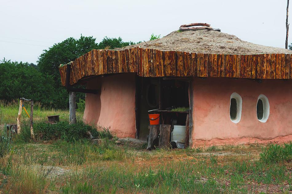 Hobbit round houses