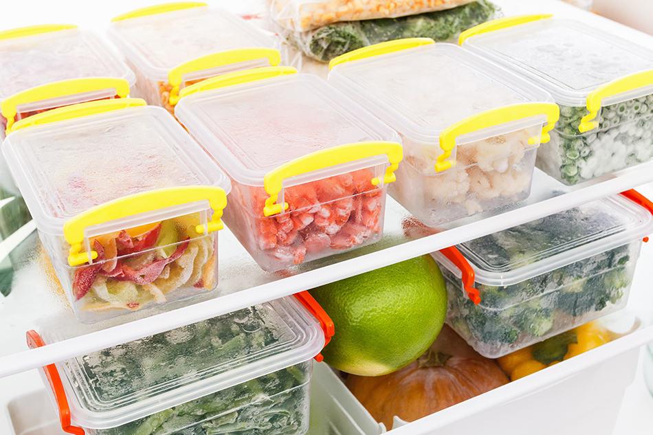 Label each item, since frozen food is not always recognizable