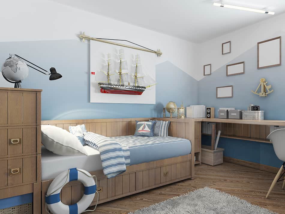 16 Nautical Bedroom Ideas To Feel Closer To The Ocean Homenish