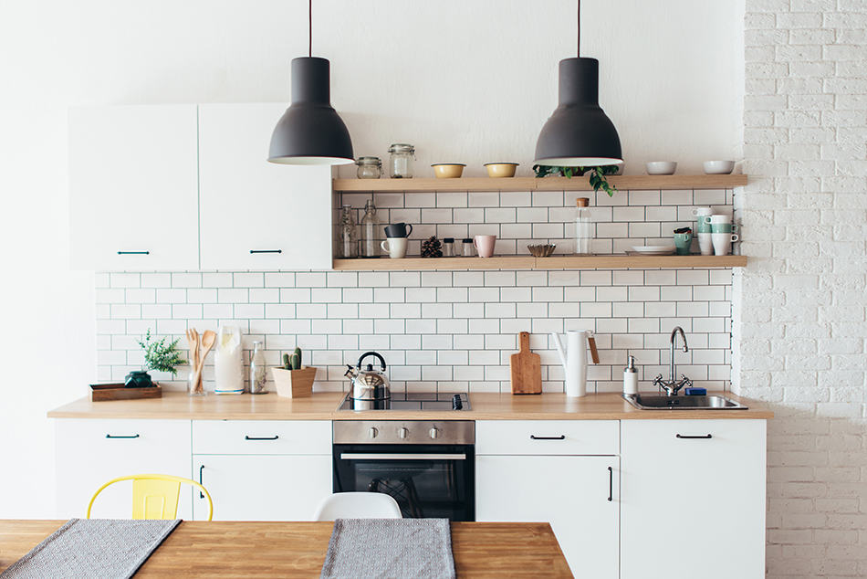 Store essential kitchen items at your fingertips