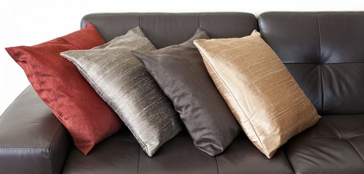 Throw pillows for your brown couch