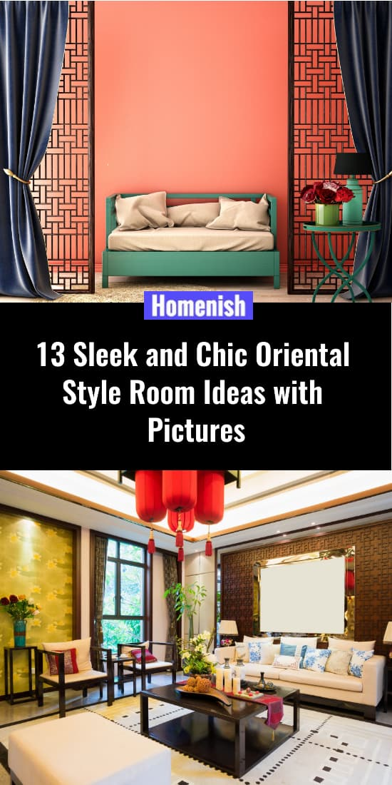 13 Sleek and Chic Oriental Style Room Ideas with Pictures