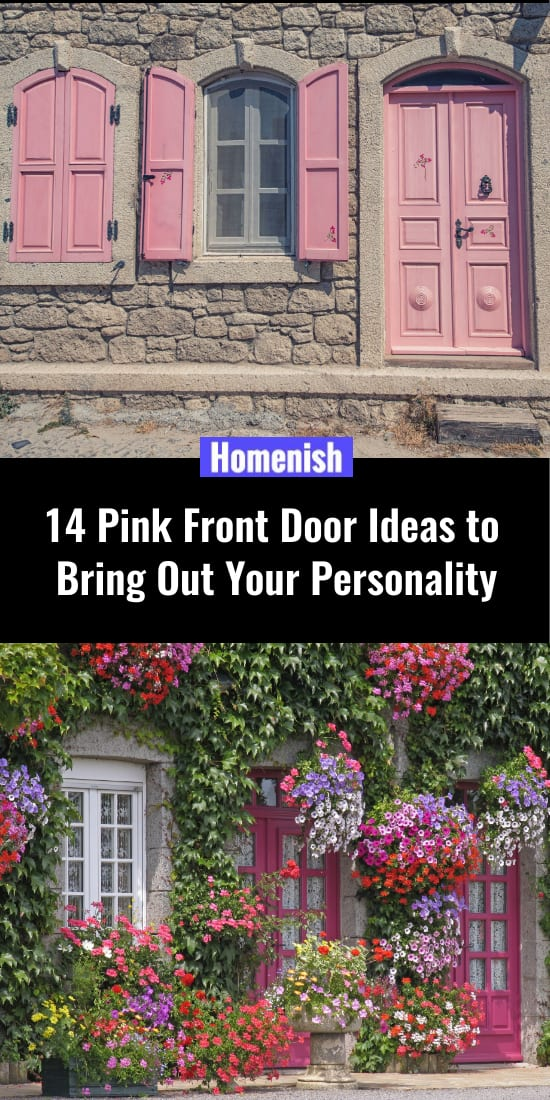 14 Pink Front Door Ideas to Bring Out Your Personality