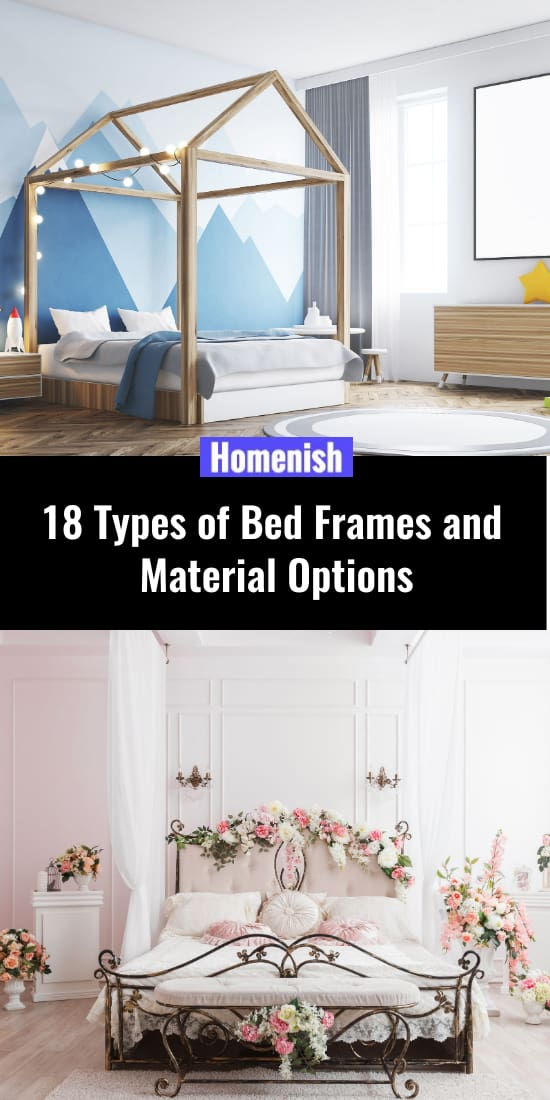 18 Types of Bed Frames and Material Options