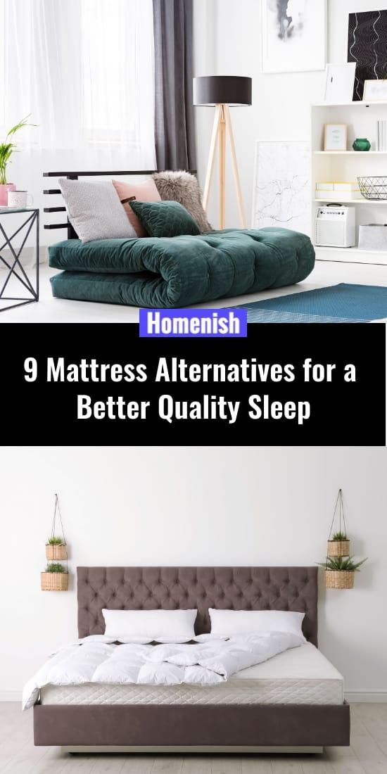 9 Mattress Alternatives for a Better Quality Sleep