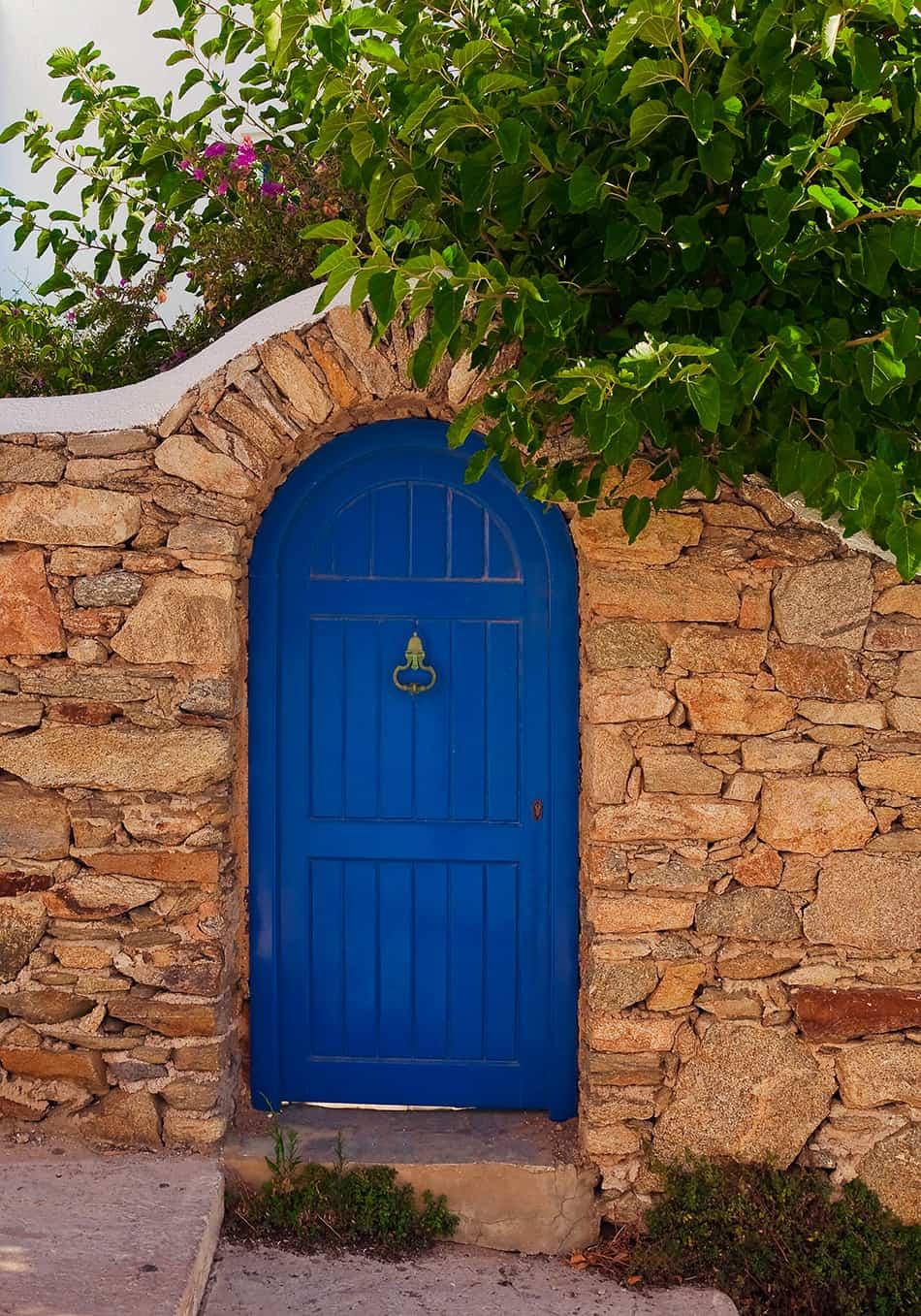 Blue Door as a Focal Point
