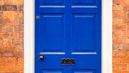 Blue Front Door Ideas