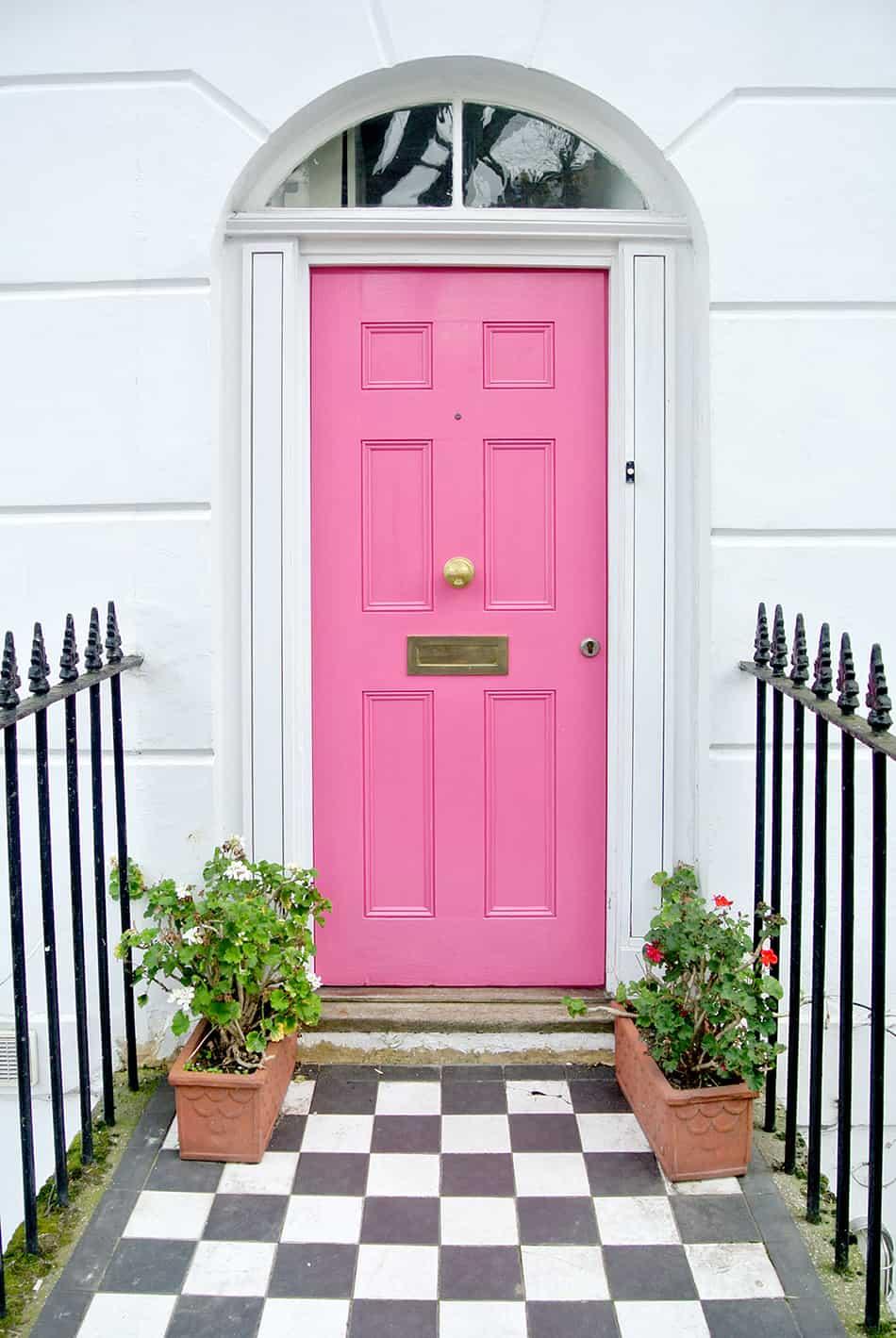 Blush Pink on White