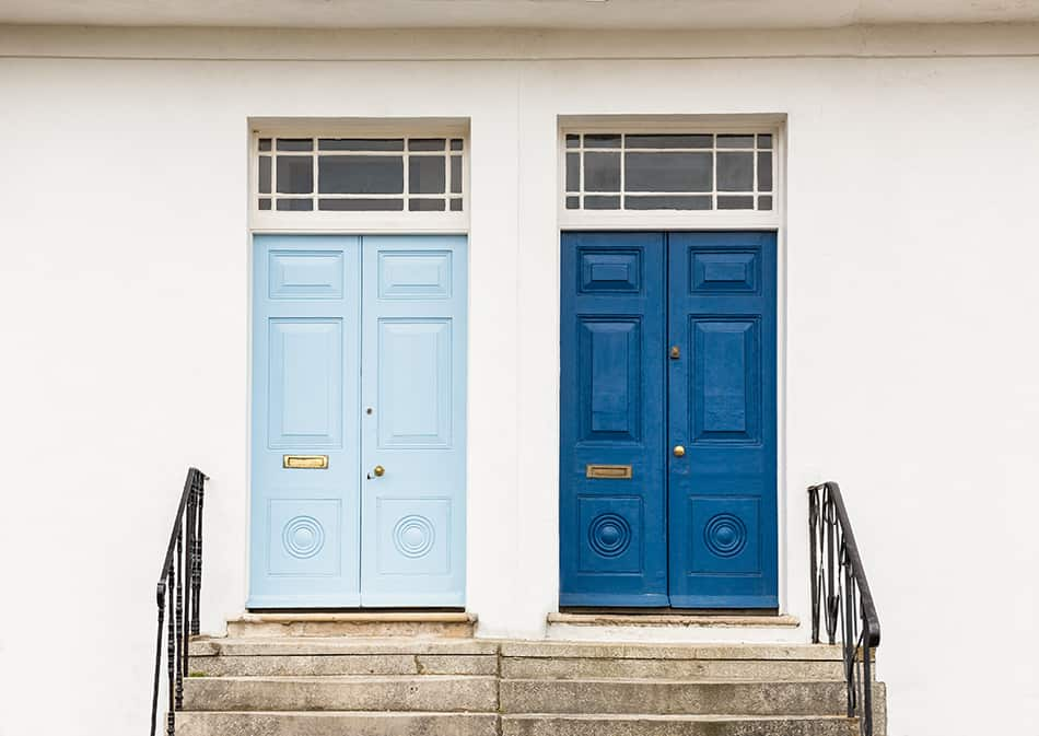 Brilliant Blue for Townhouses